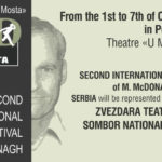 THE SECOND INTERNATIONAL FESTIVAL OF MARTIN MCDONAGH