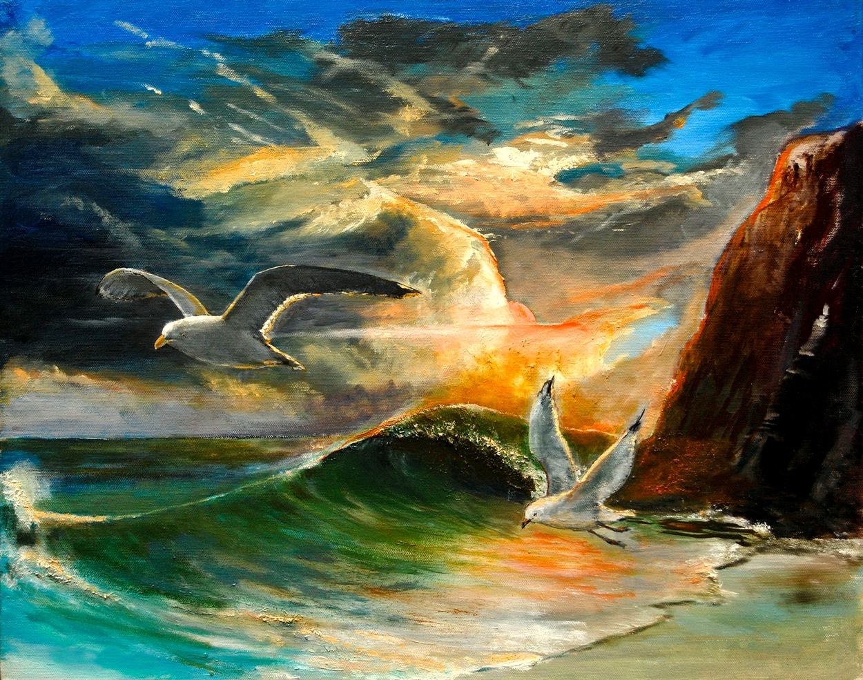 after-the-storm-sunset-seagulls-by-patrick-rahming