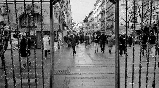 Апстрактни детаљи Београда