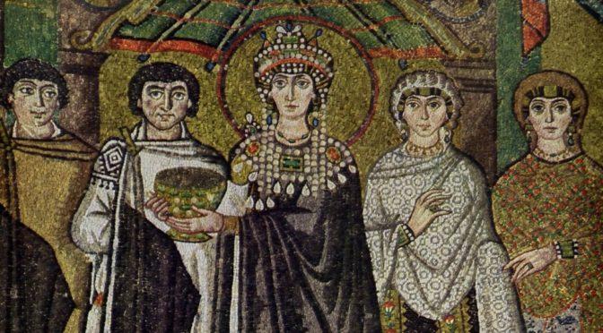 Историјски портрет: Царица Теодора