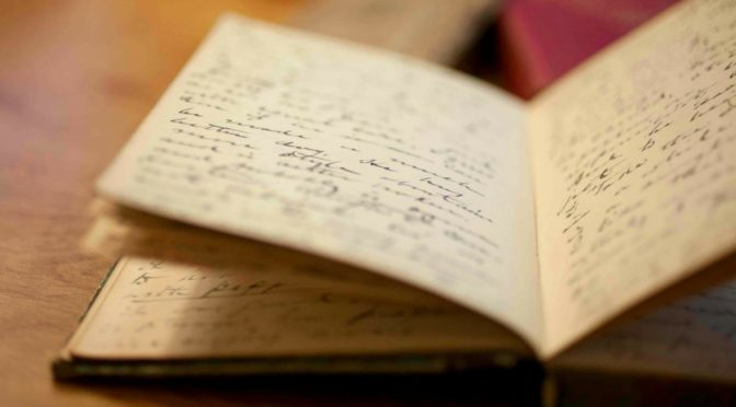 Нађено у дневнику неког писца или како уживати у писању