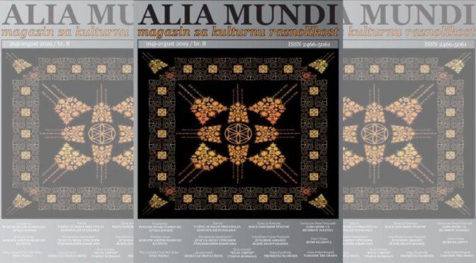 Novi broj časopisa Alia Mundi
