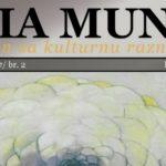 "Objavljen drugi broj magazina za kulturnu raznolikost ""Alia Mundi"""